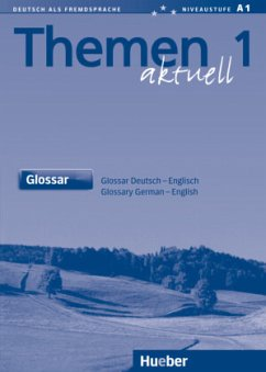 Themen aktuell 1. Glossar Deutsch - Englisch