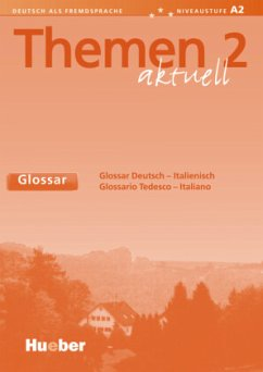 Themen aktuell 2 Neu. Glossar Deutsch - Italien...
