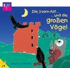 Die 3 vom Ast und die großen Vögel, 1 Audio-CD