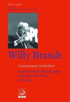 Gemeinsame Sicherheit - Brandt, Willy