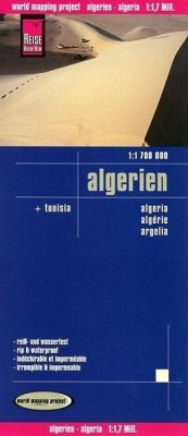 World Mapping Project Reise Know-How Landkarte Algerien, Tunesien (1:1.700.000); Algeria; Algérie, Argelia