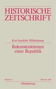 Rekonstruktionen einer Republik - Hölkeskamp, Karl-Joachim