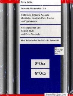Oxforder Oktavhefte 1 & 2 , 4 Tle. m. CD-ROM - Kafka, Franz
