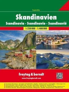 Freytag & Berndt Atlas Skandinavien Superatlas,...