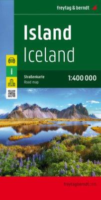 Freytag & Berndt Autokarte Island; Ijsland; Iceland; Islande; Islanda