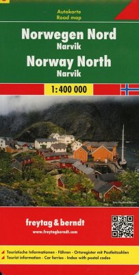 Freytag & Berndt Autokarte Norwegen Nord - Narvik 1 : 400 000; Norway North