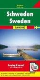 Freytag & Berndt Autokarte Schweden; Sverige; Zweden; Sweden, Suède; Svezia