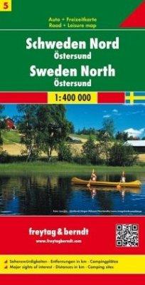 Freytag & Berndt Autokarte Schweden Nord; Sverige Norre; Zweden Noorden