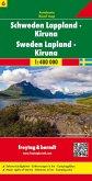 Freytag & Berndt Autokarte Schweden Lappland - Kiruna; Sverige, Lappland; Zweden, Lapland