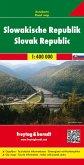 Freytag & Berndt Autokarte Slowakische Republik; Slowak Republic; Slovenska republika; Repubblica Slovacca