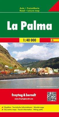 Freytag & Berndt Autokarte La Palma 1:40.000