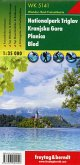 Freytag & Berndt Wander-, Rad- und Freizeitkarte Nationalpark Triglav, Kranjska Gora, Planica, Bled