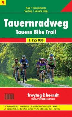 Rad- und Freizeitkarte 05. Tauern-Radweg 1 : 125 000