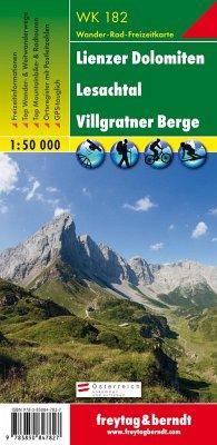 Freytag & Berndt Wander-, Rad- und Freizeitkarte Lienzer Dolomiten, Lesachtal, Villgratner Berge