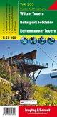 Wölzer Tauern - Naturpark Sölktäler - Rottenmanner Tauern, Wanderkarte 1:50.000, WK 203