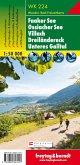Freytag & Berndt Wander-, Rad- und Freizeitkarte Faaker See, Ossiacher See, Villach, Dreiländereck, Unteres Gailtal