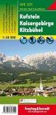 Freytag & Berndt Wander-, Rad- und Freizeitkarte Kufstein, Kaisergebirge, Kitzbühel