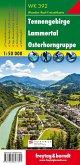 Freytag & Berndt Wander-, Rad- und Freizeitkarte Tennengebirge, Lammertal, Osterhorngruppe