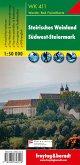 Freytag & Berndt Wander-, Rad- und Freizeitkarte Steirisches Weinland, Südwest-Steiermark
