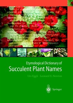 Etymological Dictionary of Succulent Plant Names - Eggli, Urs; Newton, Len