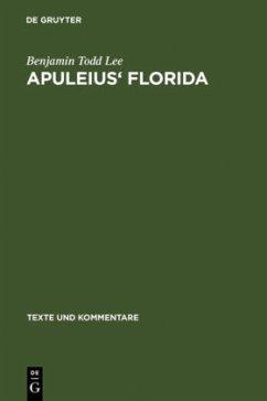 Apuleis' Florida - Lee, Benjamin Todd