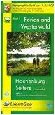 Topographische Karte Rheinland-Pfalz Ferienland Westerwald