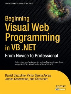 Beginning Visual Web Programming in VB .NET - Cazzulino, Daniel
