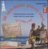 500 Latein-Vokabeln spielerisch erlernt, 1 Audio-CD