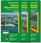 Topographische Freizeitkarte Rheinland-Pfalz Oberes Mittelrheintal; Upper Middle Rhine Valley; Vallee du Haut-Rhin Moyen