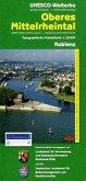Topographische Freizeitkarte Rheinland-Pfalz Oberes Mittelrheintal, Koblenz; Upper Middle Rhine Valley, Koblenz / Vallee