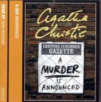 A Murder Is Announced, 6 Audio-CDs\Ein Mord wird angekündigt, 6 Audio-CDs, englische Version