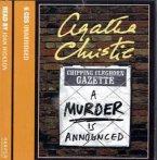 A Murder Is Announced, 6 Audio-CDs\Ein Mord wird angekündigt, 6 Audio-CDs, englische Version
