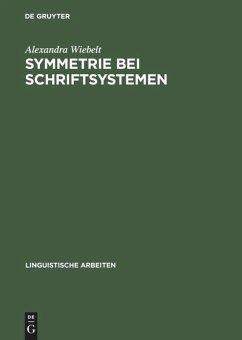 Symmetrie bei Schriftsystemen
