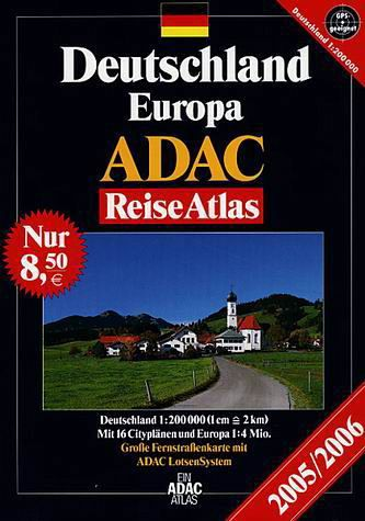 adac reiseatlas deutschland europa 2005 2006. Black Bedroom Furniture Sets. Home Design Ideas