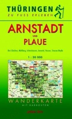 Wanderkarte Arnstadt und Plaue