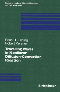 Travelling Waves in Nonlinear Diffusion-Convection Reaction - Gilding, B. H.; Kersner, R.
