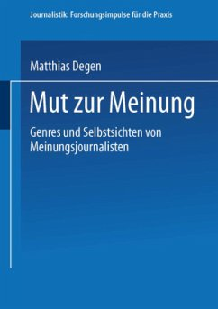 Mut zur Meinung - Degen, Matthias