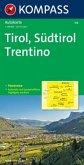 Kompass Karte Tirol, Südtirol, Trentino; Tirol, Alto Adige, Trentino