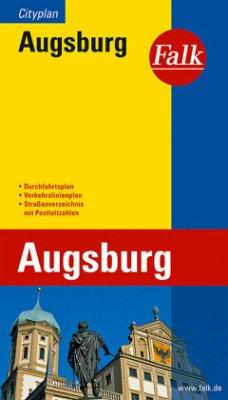 Falk Plan Augsburg, Cityplan