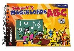 Voggy´s Musiklehre ABC. Mit CD