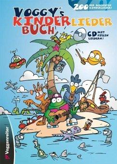Voggy´s Kinderliederbuch, m. Audio-CD