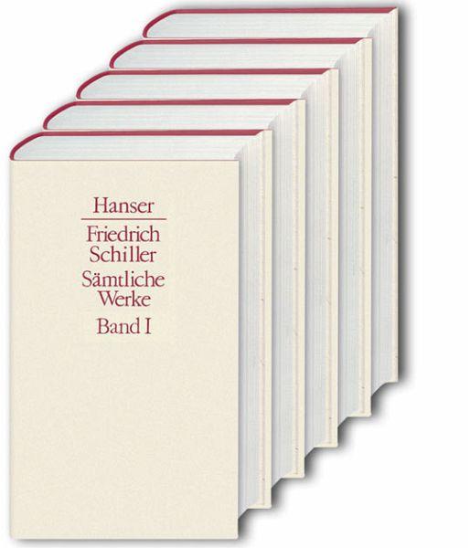 Sämtliche Werke, 5 Bde. - Schiller, Friedrich von