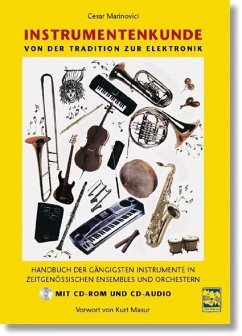 Instrumentenkunde, m. CD-ROM und Audio-CD