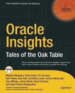Oracle Insights - Ensor, David; Gorman, Tim; Hailey, Kyle; Kolk, Anjo; Krishna Vaidyanatha, Gaja; Lewis, Jonathan; McDonald, Connor; Millsap, Cary; Morle, James; Ruthven, David