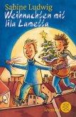 Weihnachten mit lila Lametta