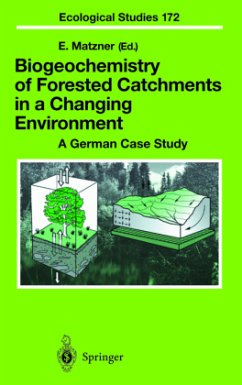 Biogeochemistry of Forested Catchments in a Changing Environment - Matzner, Egbert (ed.)