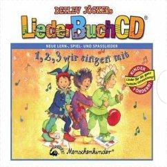 LiederBuchCD - 1,2,3 wir singen mit - Detlev Jöcker