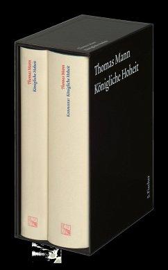 Königliche Hoheit. Große kommentierte Frankfurter Ausgabe. 2 Bände - Mann, Thomas