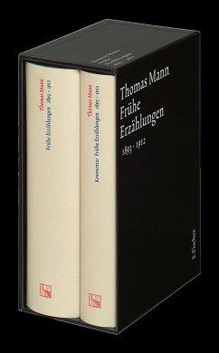 Frühe Erzählungen. Große kommentierte Frankfurter Ausgabe - Mann, Thomas