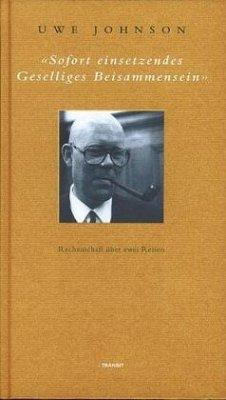 Soforteinsetzendes geselliges Beisammensein - Johnson, Uwe